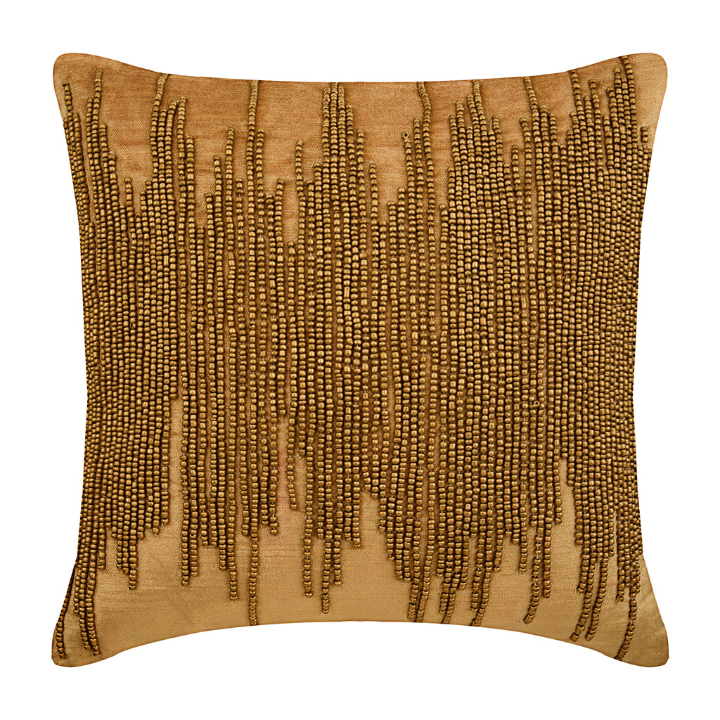 Gold Spill Pillow Cover