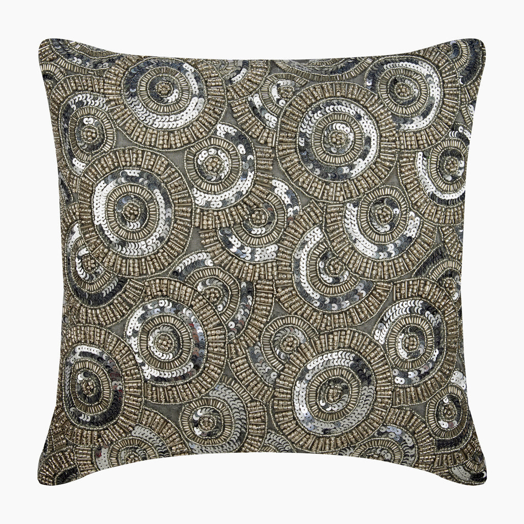 Honestly Silver Pillow Cover