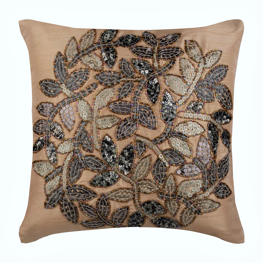 Leaf Rings Pillow Cover