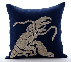 Lobster Pillow Cover