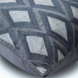 Magnet Resist - Gray Silk Throw Pillow Cover