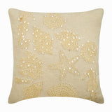 Pearly Sea Bed Pillow Cover