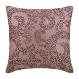 Purple Ivy Pillow Cover