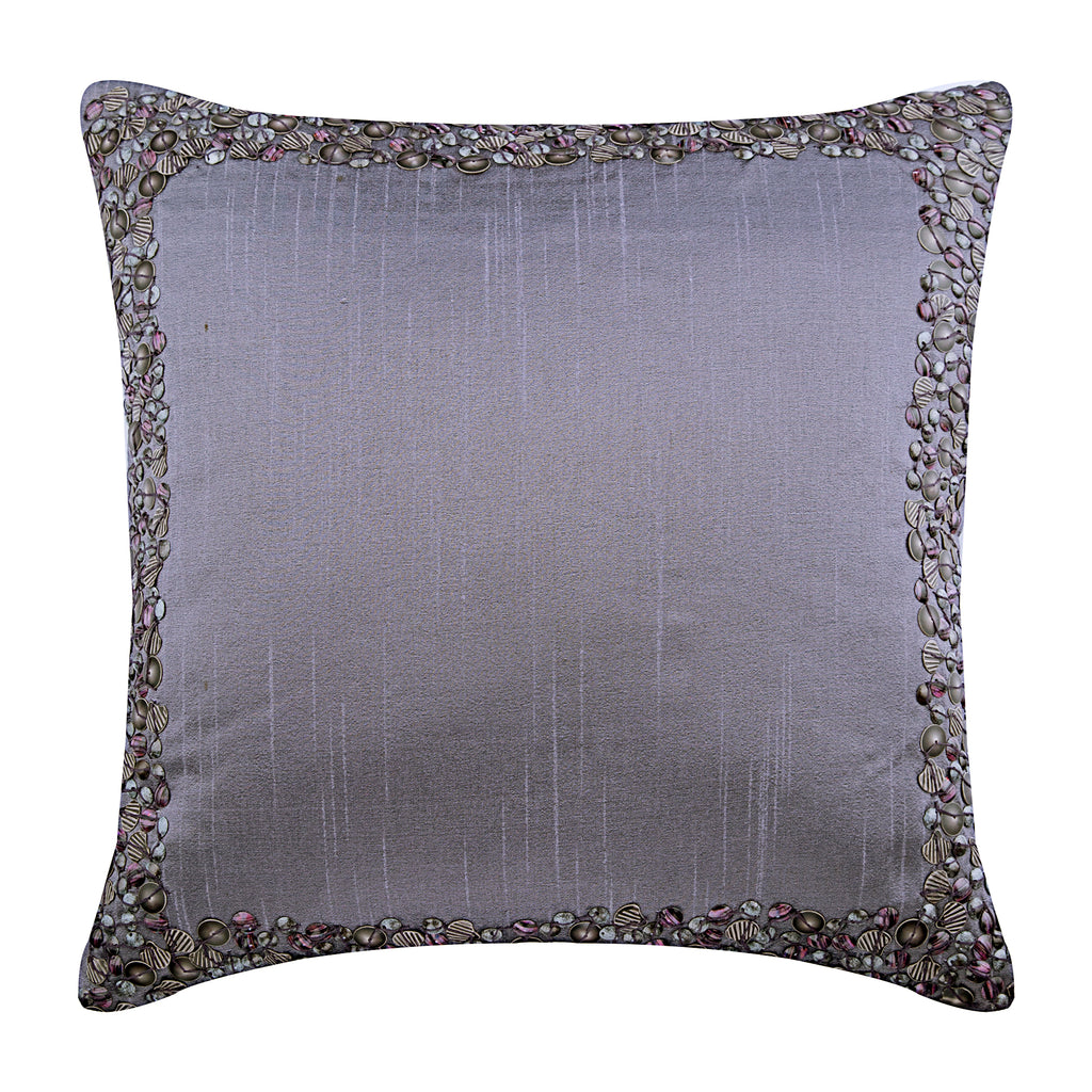 Purple Shells Pillow Cover