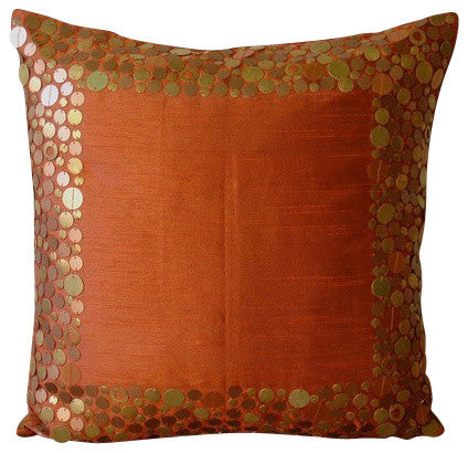 products/rust-glamor-orange-silk-bordered-modern-border-metal-sequins-pillow-covers.jpg