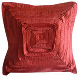 Rusty Frills Pillow Cover