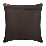 Sailboat Wheel - Brown Linen Throw Pillow Cover