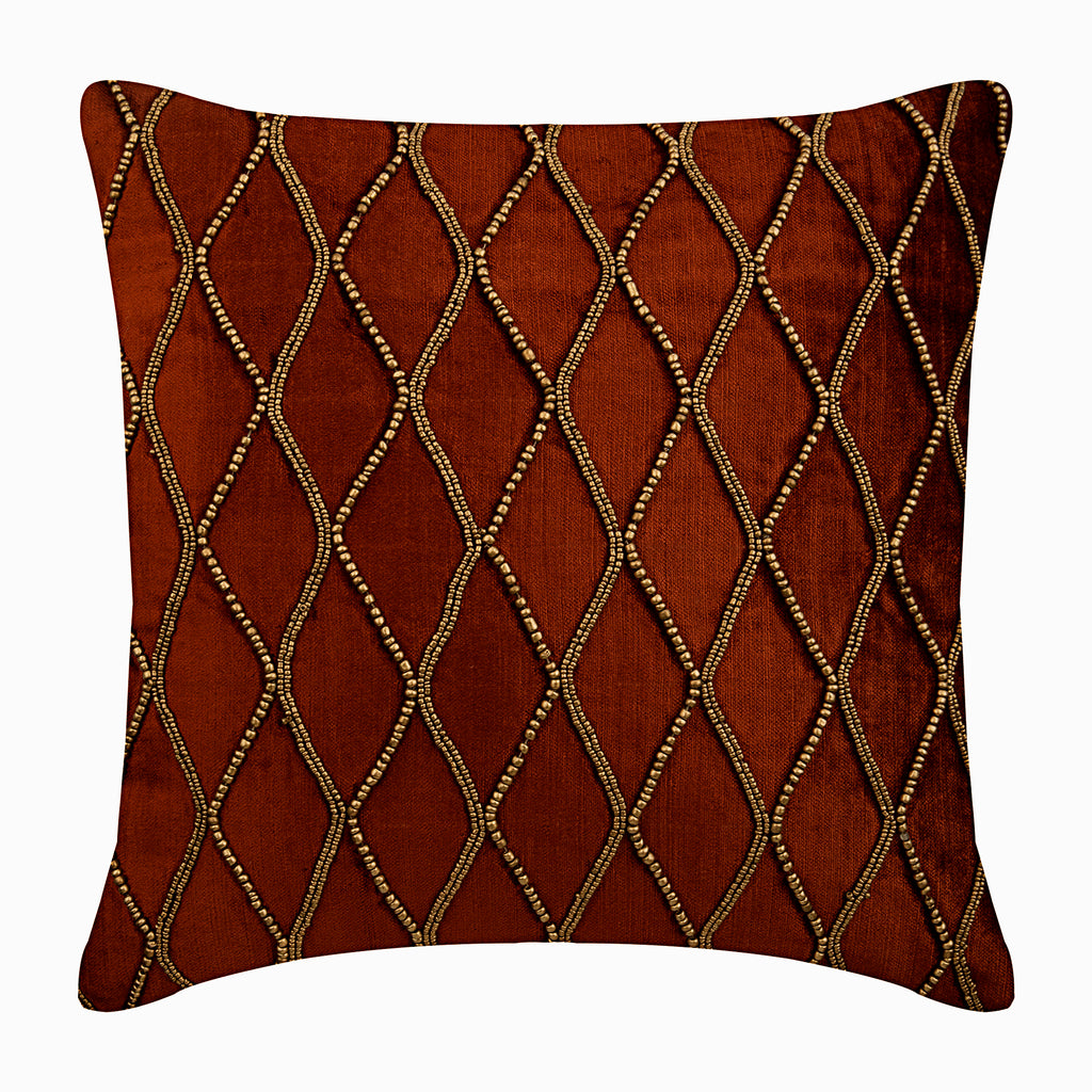 Sumac Gold Pillow Cover
