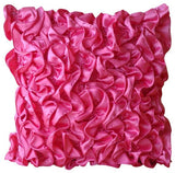 Vintage Fuchsia Pillow Cover