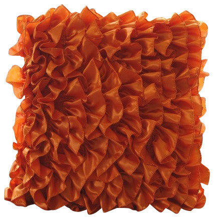Vintage Orange Pillow Cover