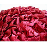 Vintage Rubys - Ruby Red Satin Throw Pillow Cover