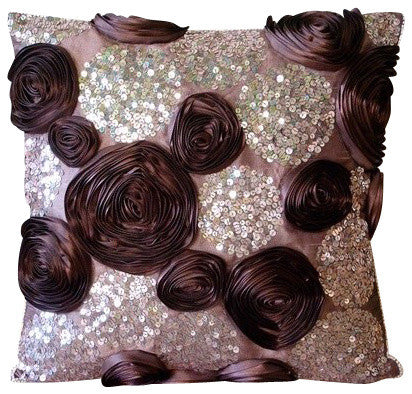 Wine and Roses Pillow Cover