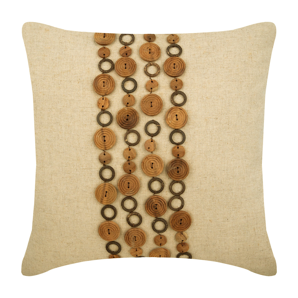 Wood Space Pillow Cover