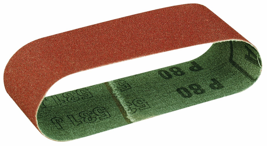 80 Grit Sanding Belts for BBS, 5 Pcs