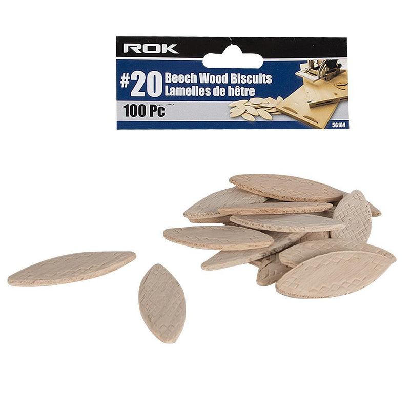 #20 Wood Biscuits(100pce)