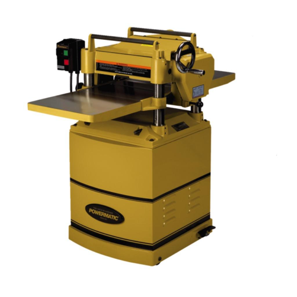 "15HH 15"" Helical Planer, 3 HP"