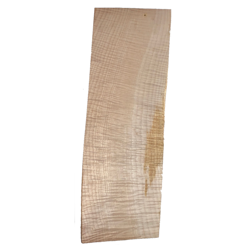 Guitar Body - Quilted Maple - Piece #136