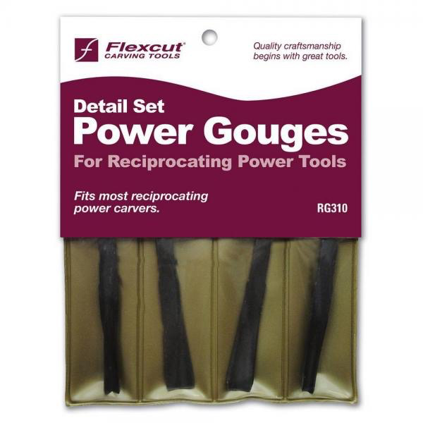 Detail Set of 4 Power Gouges