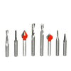8 Piece CNC General Purpose Router Bit Set