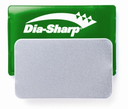Dia-Sharp EXTRA Fine Credit Card Diamond Stone, Green, 1200 mesh