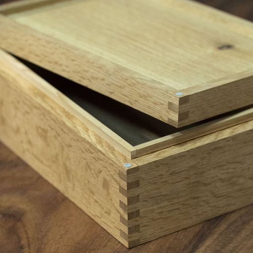 Wood Lined Jewelry Box