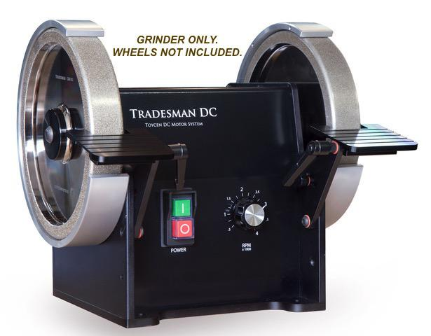 "Tradesman DC Variable Speed 8"" Bench Grinder ONLY"