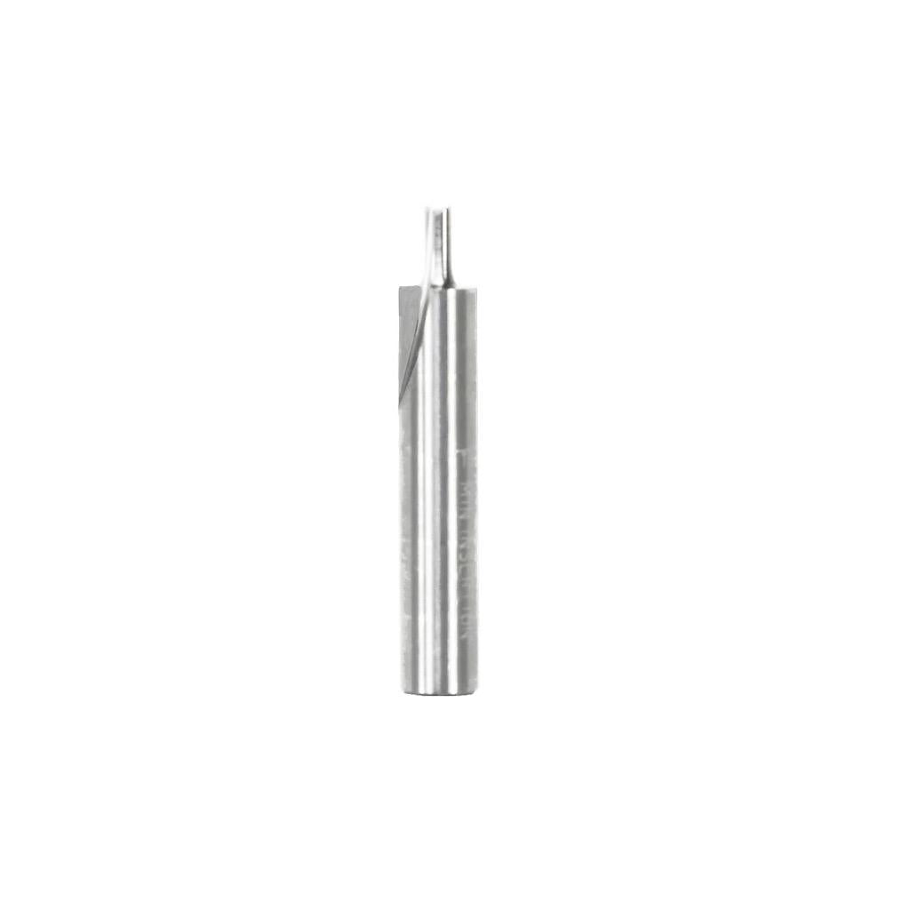 "2mm x 5/32"" Double Flute Straight Bit"