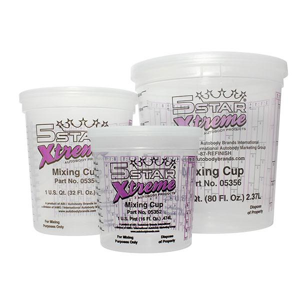 Xtreme Mixing Prep Cups