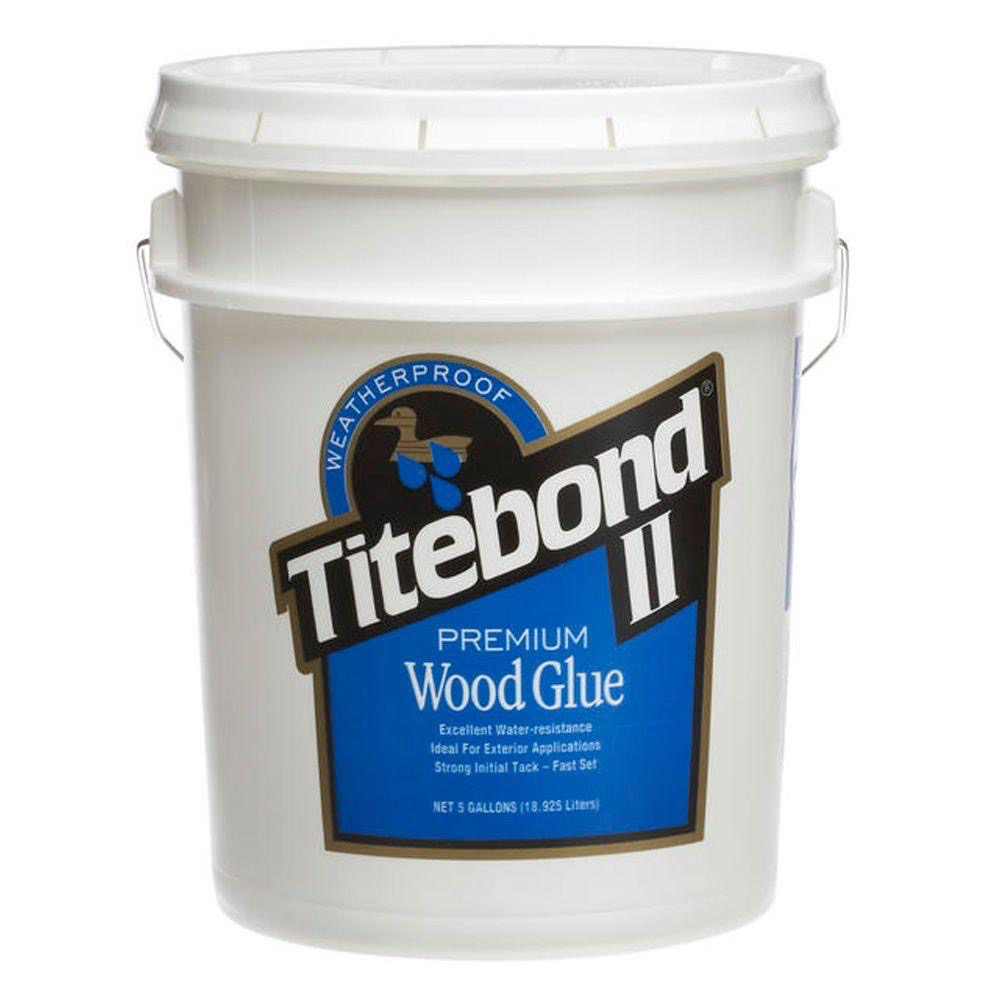 Titebond II 5 US Gallon Wood Glue
