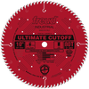 "10"" Ultimate Cut‑Off Blade, 80T"