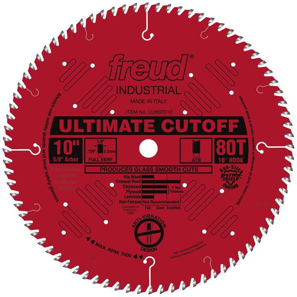 "10"" Ultimate Cut-Off Blade, 80T"
