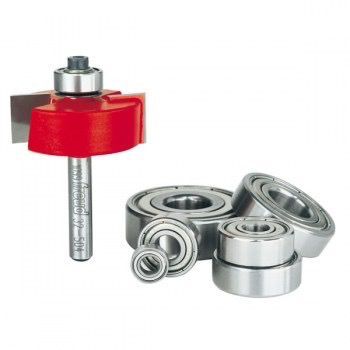 "Rabbeting Kit, Flush 1/8"", 1/4"", 5/16"", 3/8"", 7/16"", 1/2"""