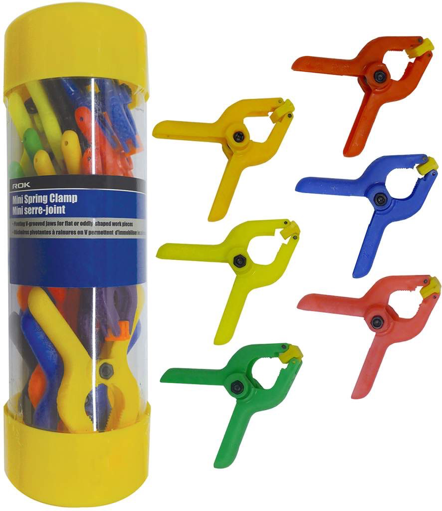 22 pc Mini Spring Clamps