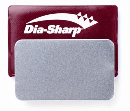 Dia-Sharp FINE Credit Card Diamond Stone, Red, 600 mesh