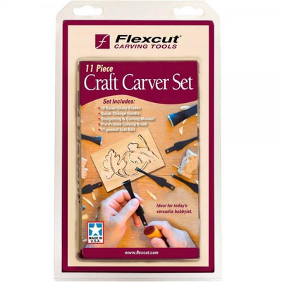 11 Pc. Craft Carver Kit