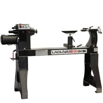 "Lathe 24"" X 36"" REVO 3HP, Electronic Variable Speed, 220V, 1 PH, CSA Certified"