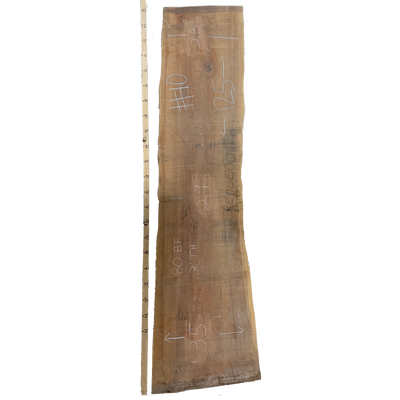 Redwood Live Edge Slab #001