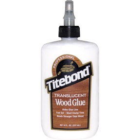 Titebond Translucent 8 oz. Wood Glue