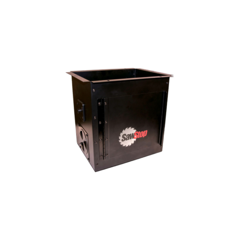 Downdraft Dust Collection Box for Router Tables