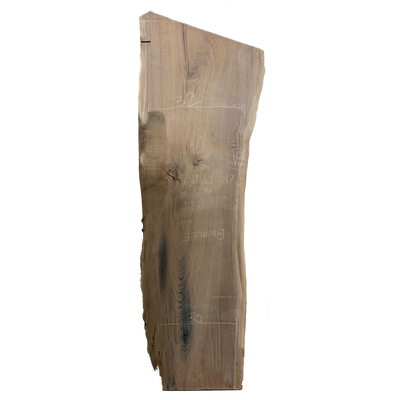 Black Walnut Live Edge Slab #297
