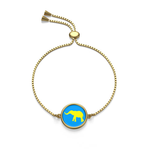 Elephant Box Chain Bracelet