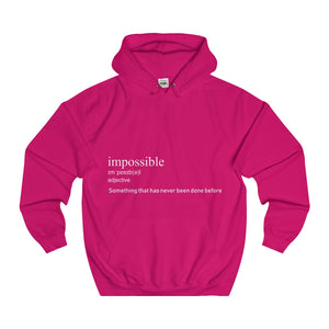 Impossible Hoodie (White Text)