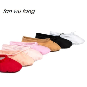 Canvas Soft Ballet Shoes