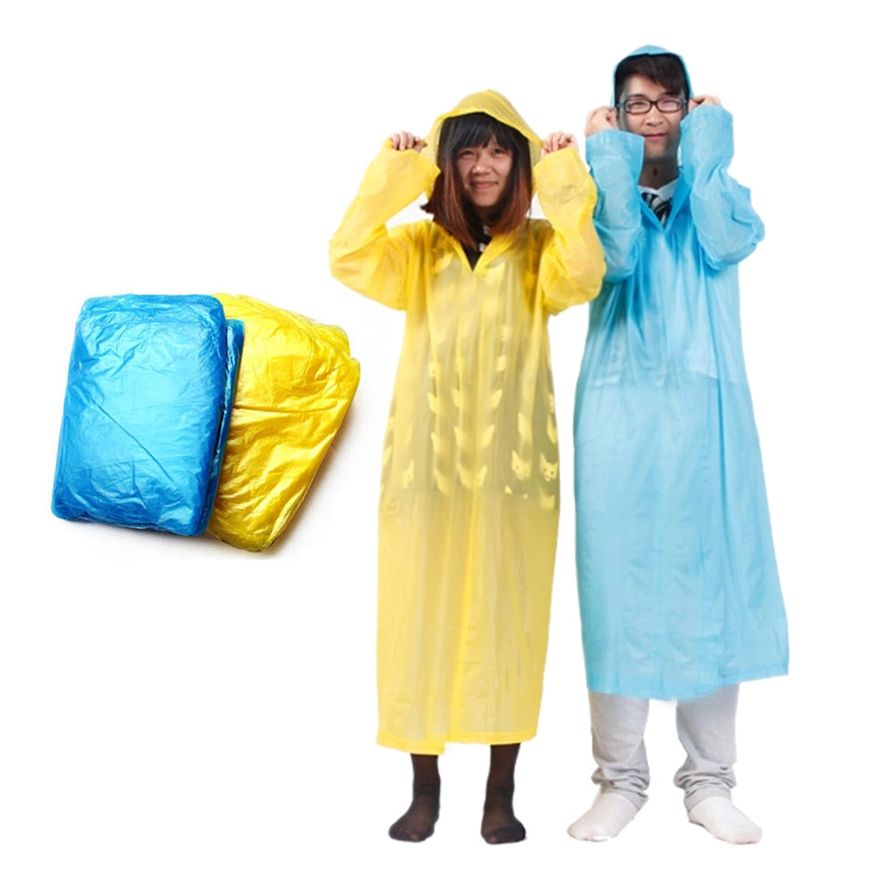 1pcs Adult One-Time Emergency Waterproof Cloth Raincoat