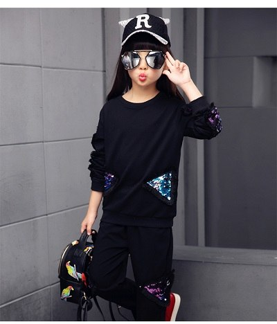 Girl Clothes Teen Modern Tracksuit