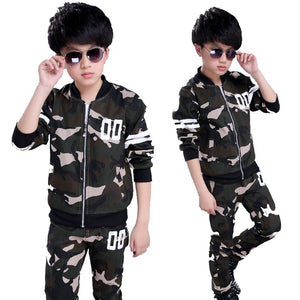 Boy Tracksuits 5-14 Years Clothing Sets
