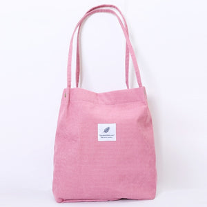 Women Corduroy Shoulder Bag