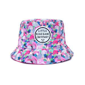 Sugar Mountains Reversible Bucket Hat- Multi Sizes Available
