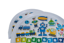 Load image into Gallery viewer, Non Slip Interactive Toddler Tray- 5 Designs Available
