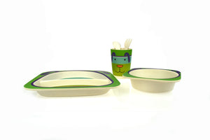 Bamboozoo Dinnerware Dog 5pcs